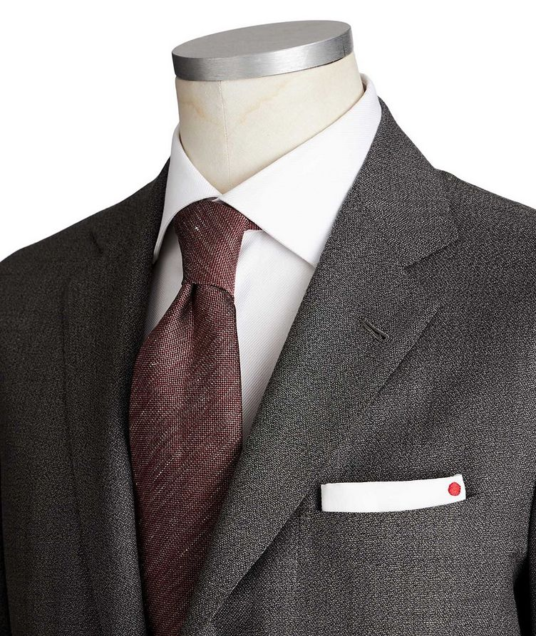 Contemporary Fit Wool-Cashmere Suit image 1