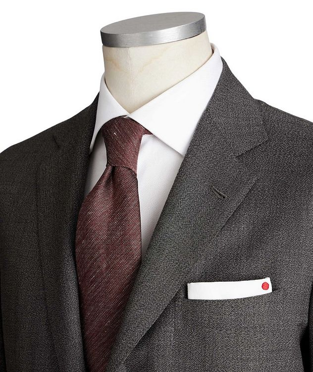 Contemporary Fit Wool-Cashmere Suit picture 2