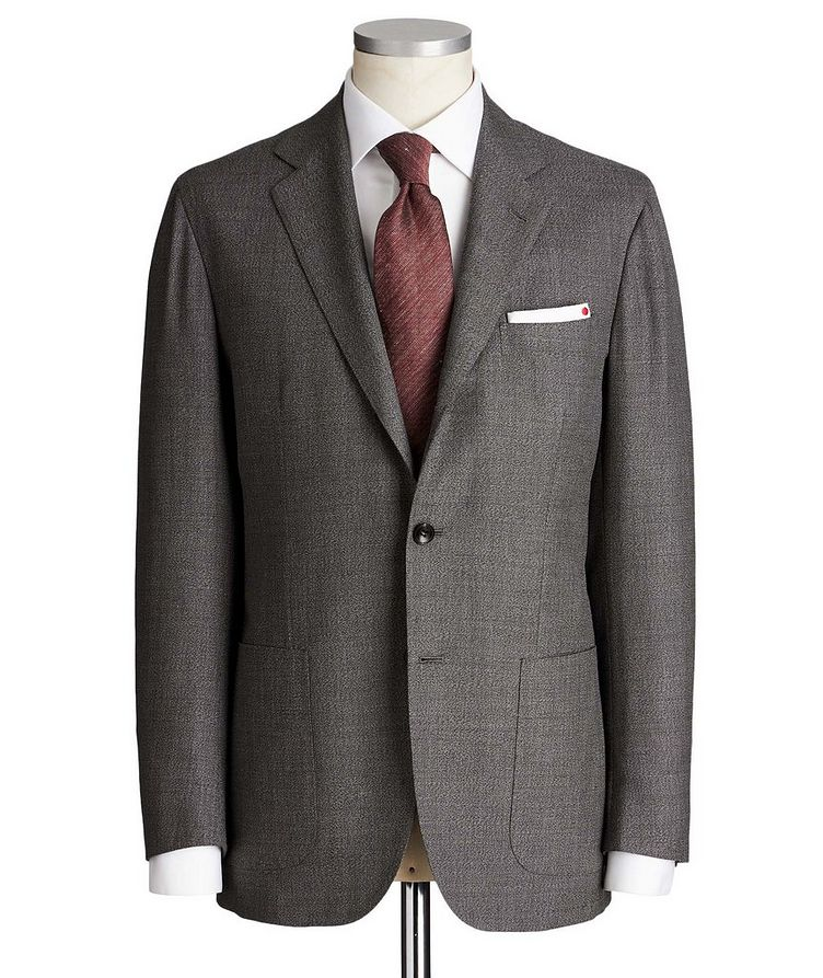 Contemporary Fit Wool-Cashmere Suit image 0
