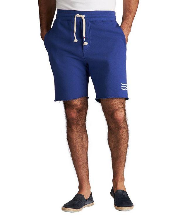 Short en coton à taille à cordon picture 1