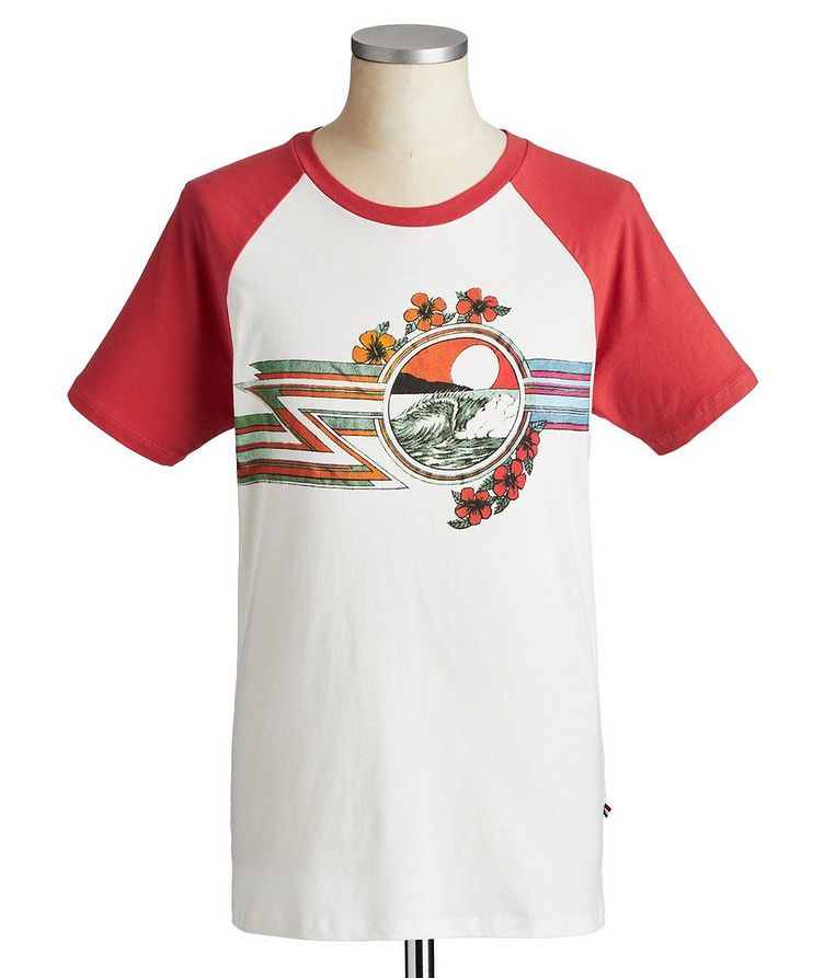 Printed Cotton T-Shirt image 0