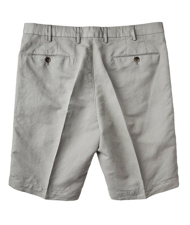 Linen-Cotton Bermuda Shorts image 1