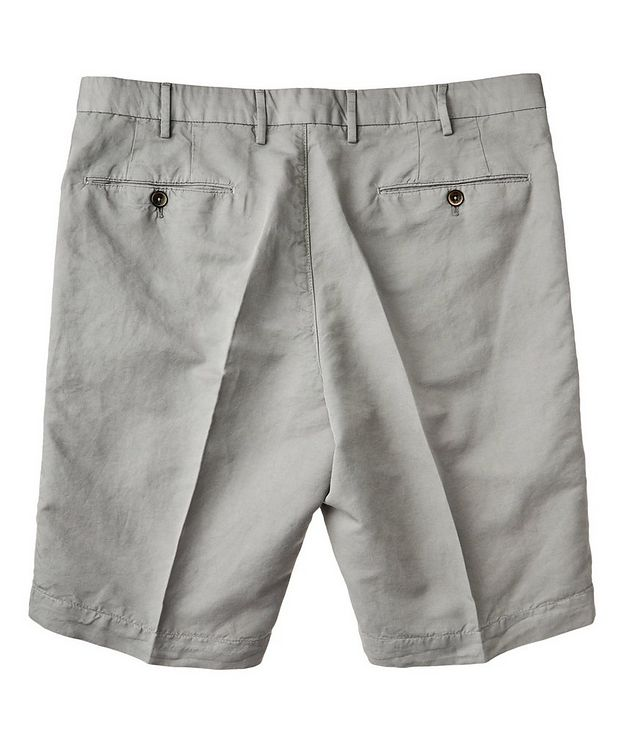 Linen-Cotton Bermuda Shorts picture 2