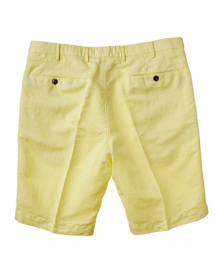Linen-Cotton Bermuda Shorts image 1