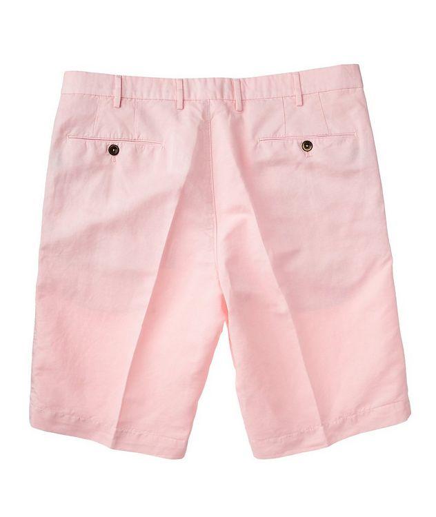 Linen-Cotton Bermuda Shorts picture 2