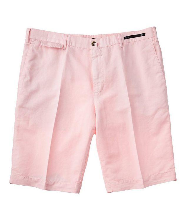 Linen-Cotton Bermuda Shorts picture 1