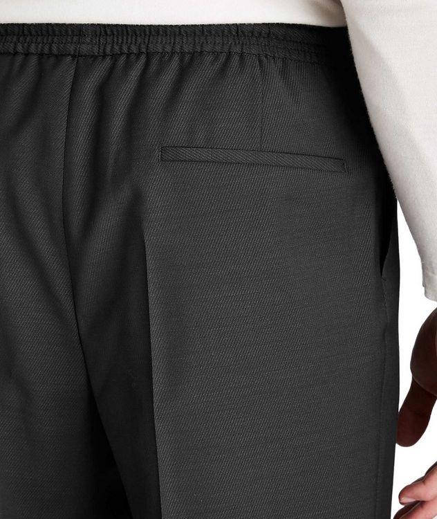 Pantalon habillé à taille à cordon, modèle Oliwer picture 3