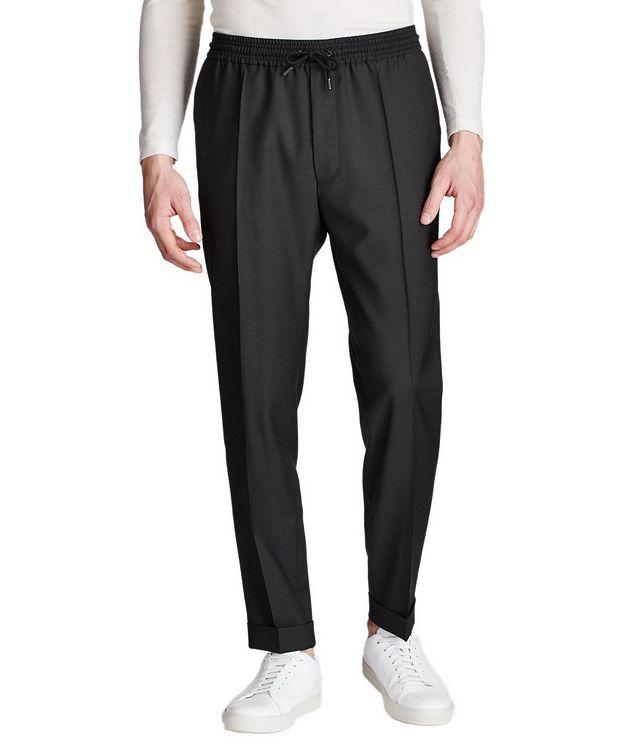 Pantalon habillé à taille à cordon, modèle Oliwer picture 1