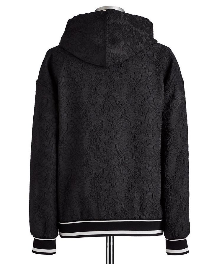 Embroidered Drawstring Hoodie image 3
