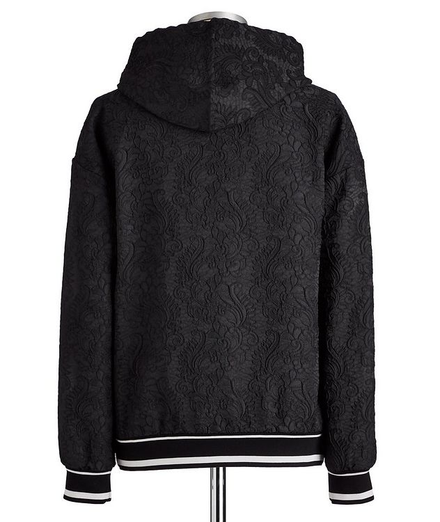 Embroidered Drawstring Hoodie picture 4