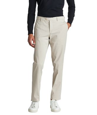 Patrick Assaraf Stretch-Cotton Chinos