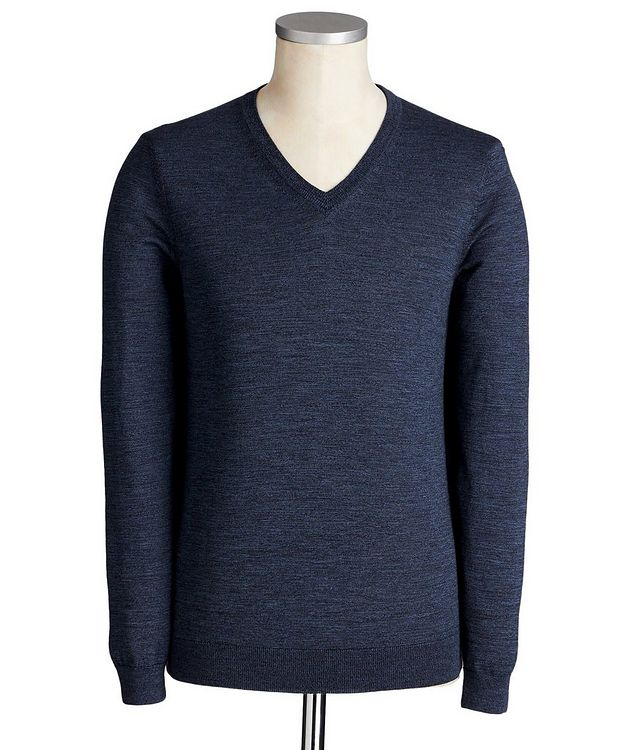 V-Neck Wool Sweater picture 1