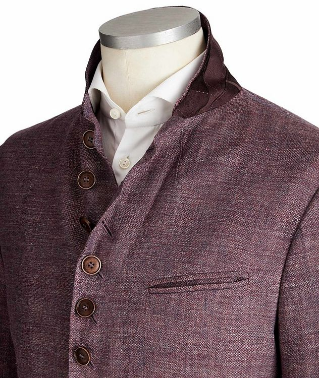 Unstructured Linen Sports Jacket picture 2