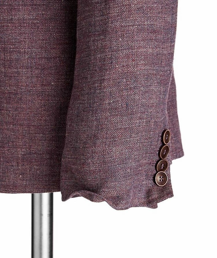 Unstructured Linen Sports Jacket image 2