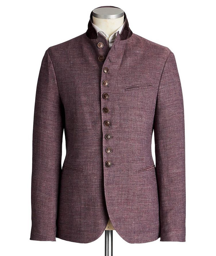 Unstructured Linen Sports Jacket image 3