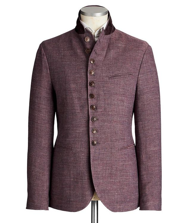 Unstructured Linen Sports Jacket picture 4
