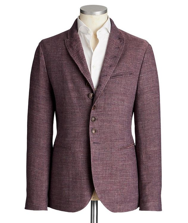 Unstructured Linen Sports Jacket picture 1