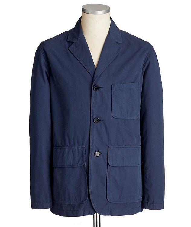 Boxy Summer Cotton Sports Jacket picture 1