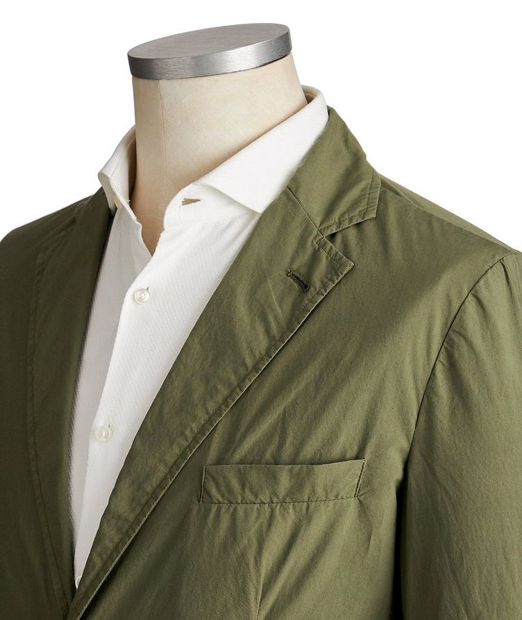Unstructured Cotton Sports Jacket image 1