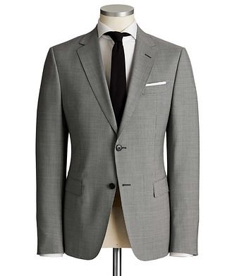 Z Zegna Drop 8 Houndstooth Wool Suit