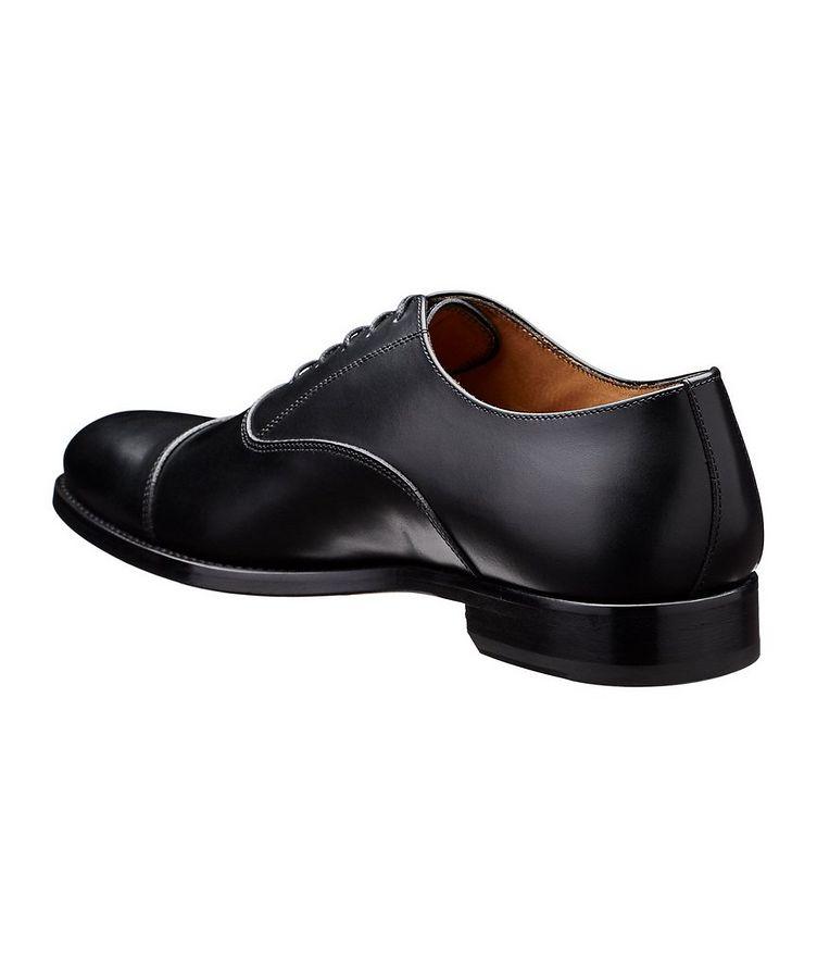 Chaussure lacée à bout rapporté image 1