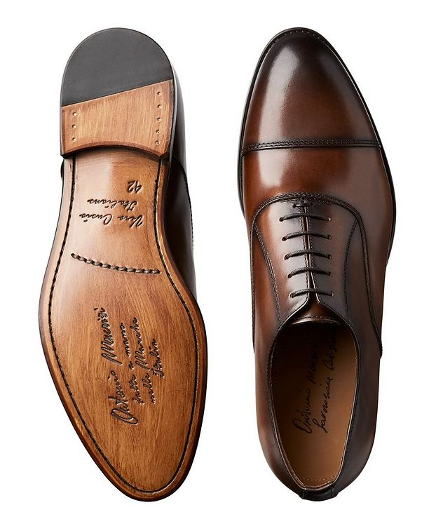 Cap-Toe Leather Oxfords picture 3