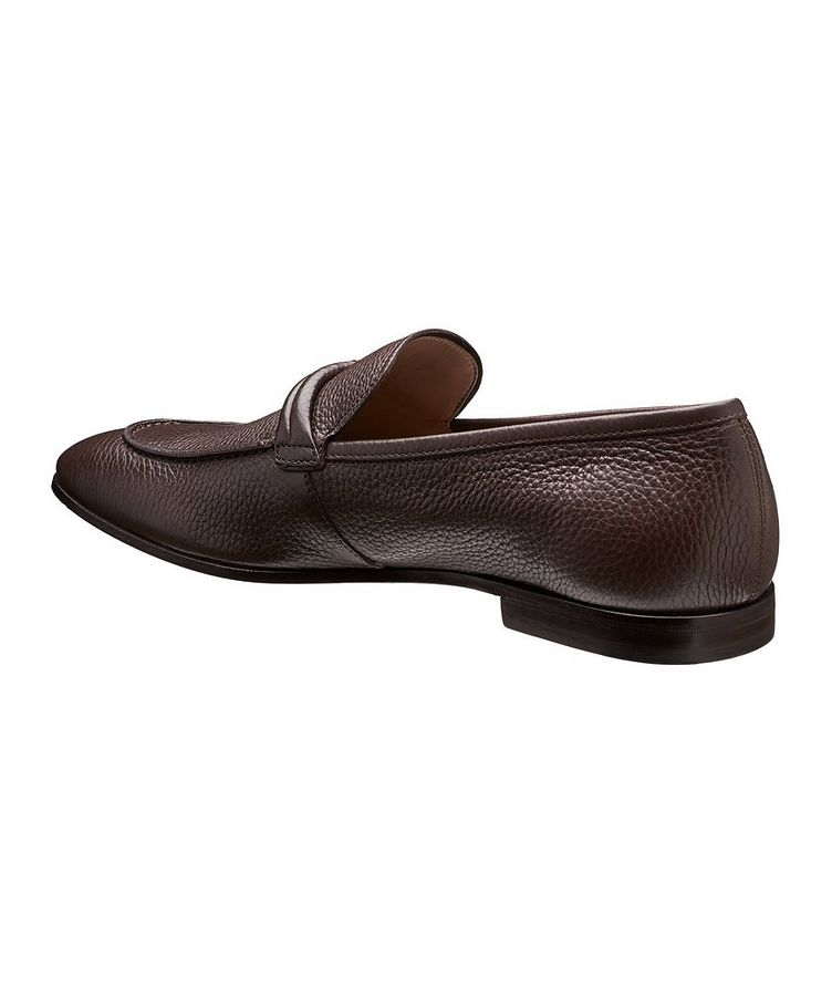 Tumbled Calfskin Loafers image 1
