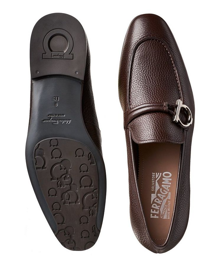 Tumbled Calfskin Loafers image 2