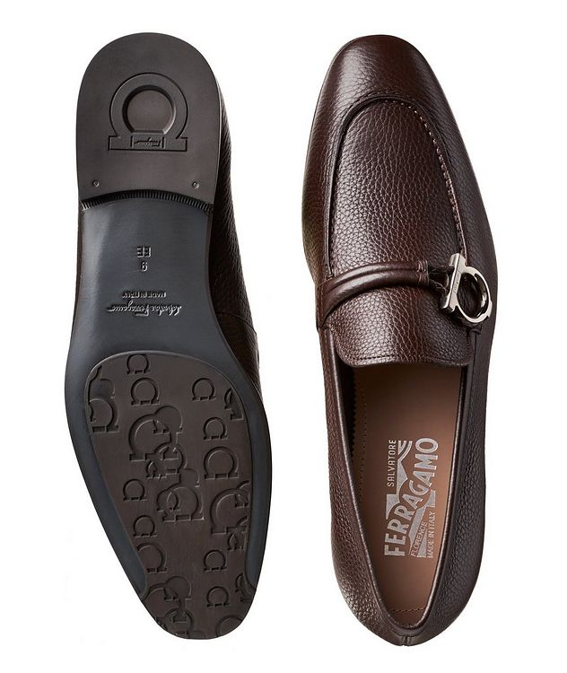 Tumbled Calfskin Loafers picture 3