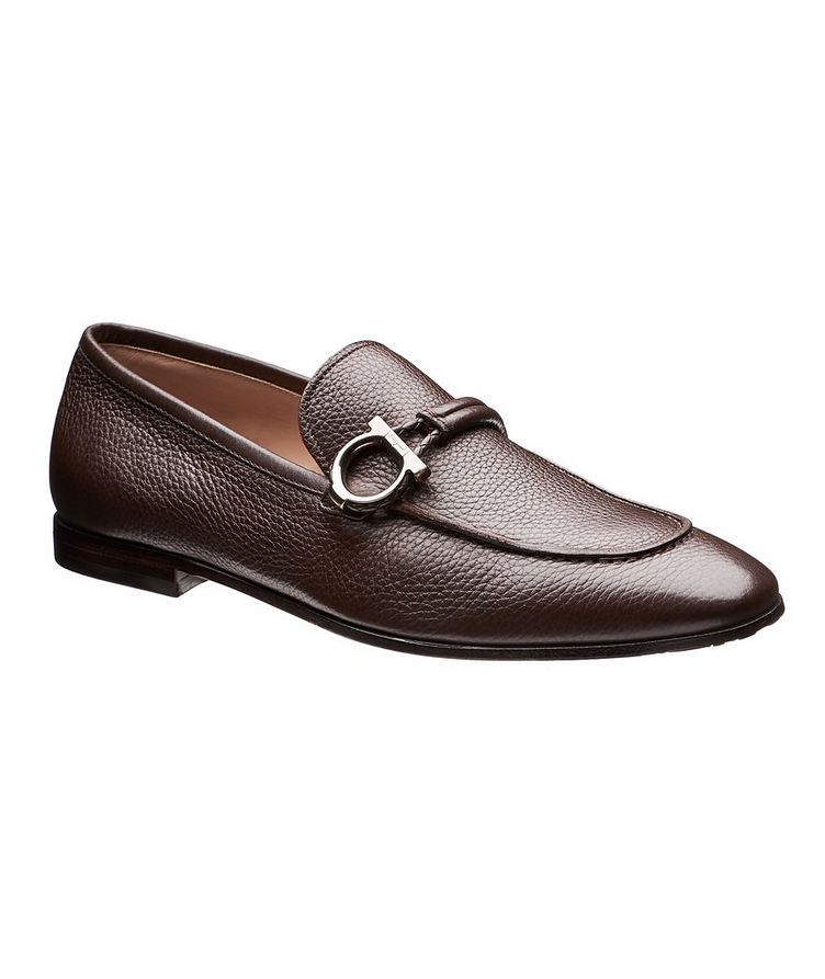Tumbled Calfskin Loafers image 0