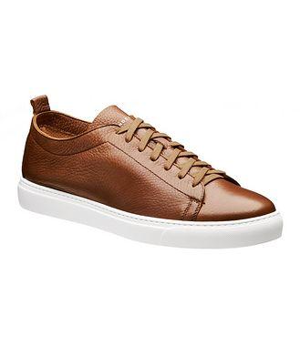 Henderson for Harry Rosen Deerskin Low-Top Sneakers