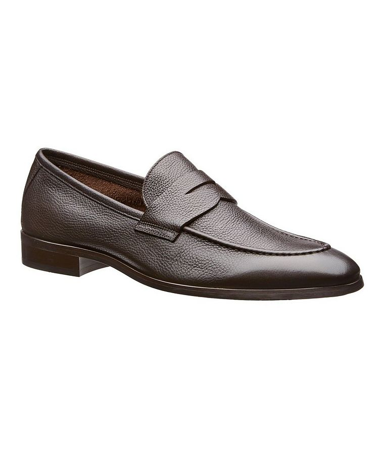 Calfskin Penny Loafers image 0