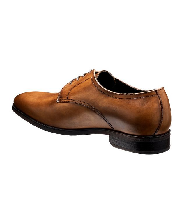 Burnished Calfskin Derbies picture 2