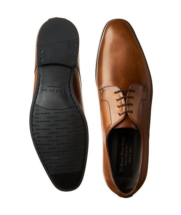 Burnished Calfskin Derbies picture 3