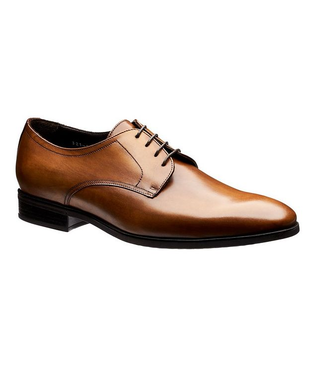 Burnished Calfskin Derbies picture 1