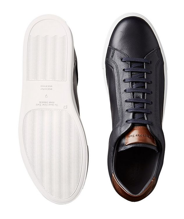 Leather Low-Tops picture 3