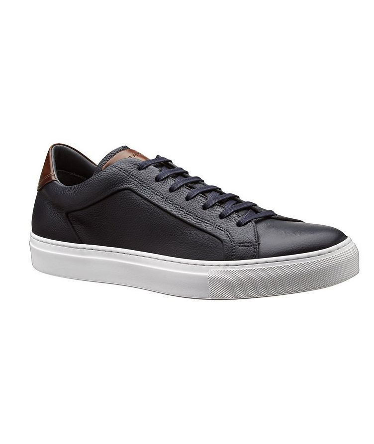 Leather Low-Tops image 0