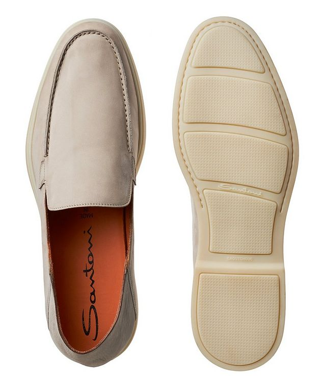 Nubuck Leather Loafers picture 3