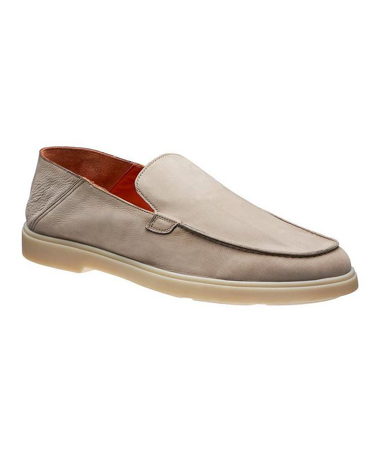 Nubuck Leather Loafers image 0