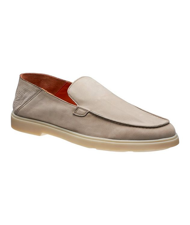 Nubuck Leather Loafers picture 1