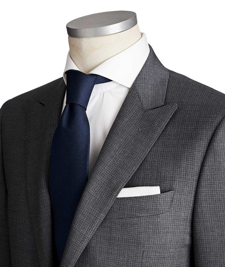 Contemporary Fit Checked Suit image 1