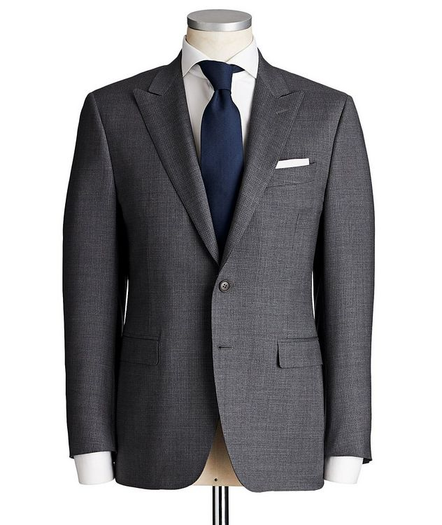 Contemporary Fit Checked Suit picture 1
