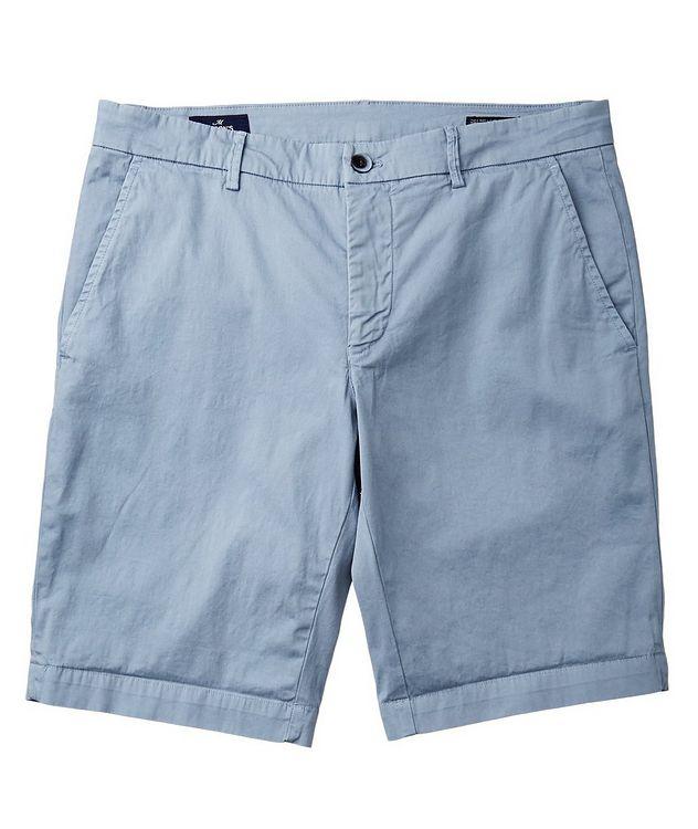Short en coton extensible de coupe amincie picture 1