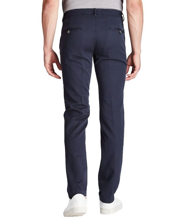 Slim Fit Stretch Cotton Chinos picture 2