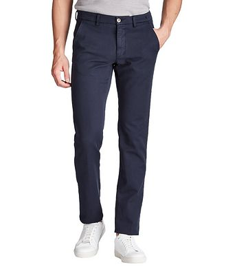 Mason's Slim Fit Stretch Cotton Chinos