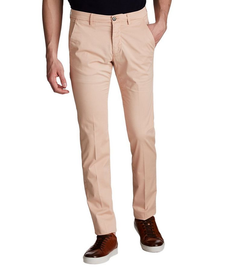 Slim Fit Stretch Cotton Chinos image 0