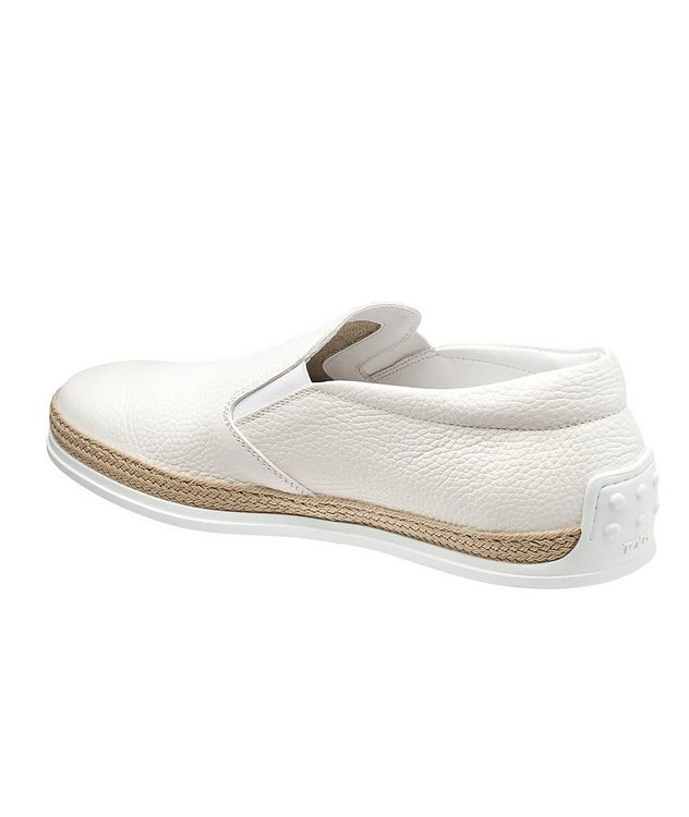 Elk Leather Espadrille Slip-Ons picture 2