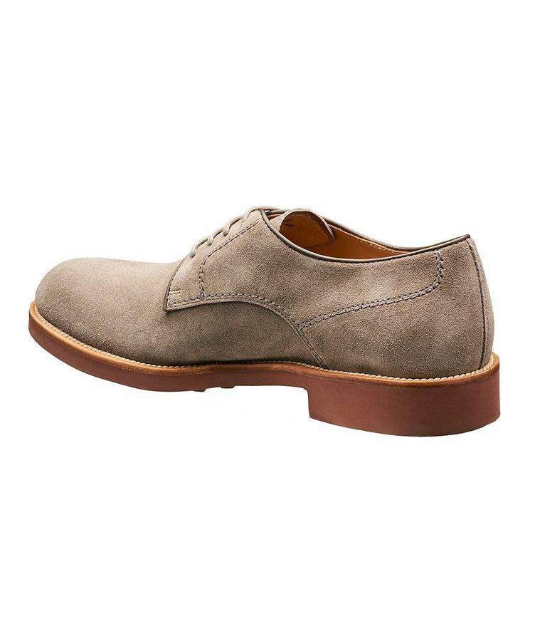 Chaussure lacée en suède image 1