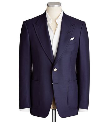 TOM FORD Shelton Wool-Mohair Sports Jacket