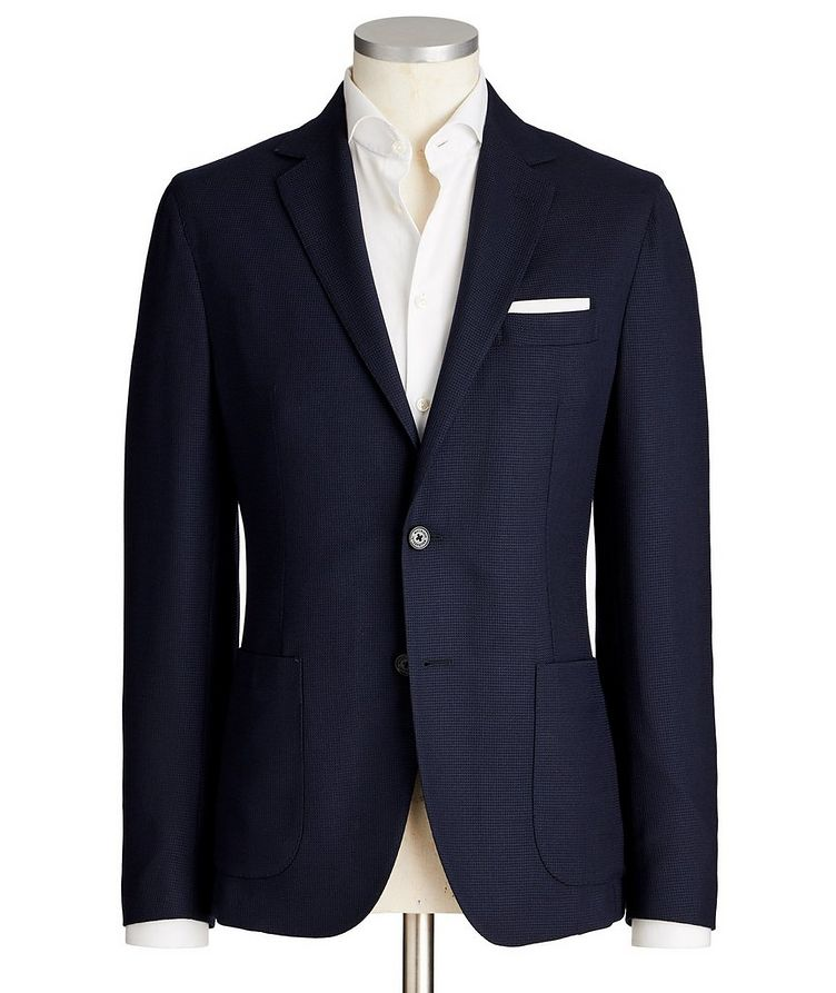 Slim Fit Wool Sports Jacket image 0